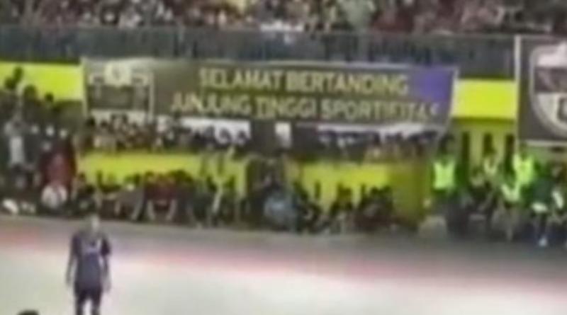 Final Futsal di Medan Padat Penonton, Netizen : Corona Hanya Untuk Sepakbola