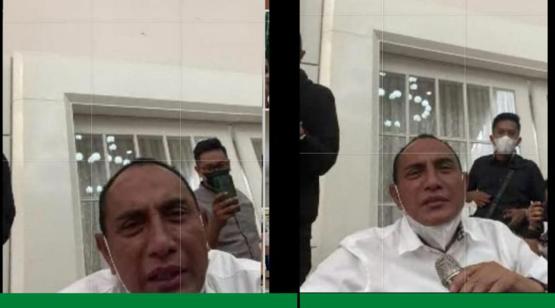 Edy Rahmayadi ke Riko Simanjuntak : Ngapain Kau di Jakarta, Kau Pulang Main di PSMS Medan Dulu