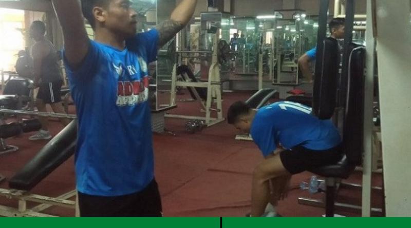 Setelah di Pantai, Fisik Pemain PSMS Medan Ditempah Lagi Lewat Cara Ini